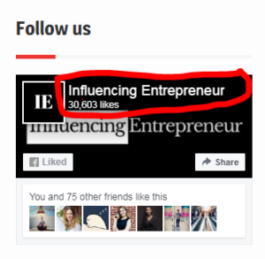 Influencing Entrepreneur